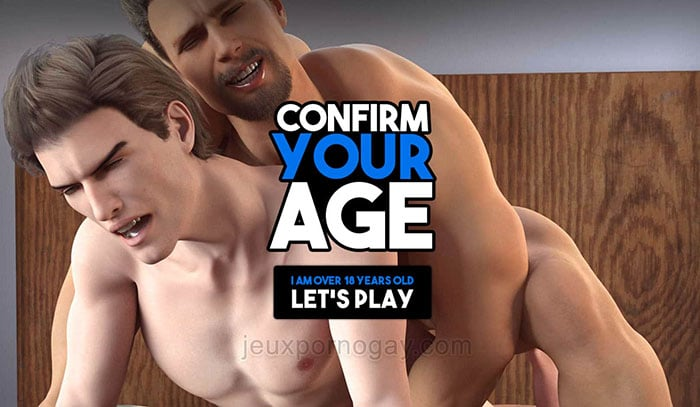 Vérification age sur XXX Gay Games